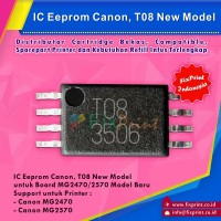 Eprom MG2470 MG2570 Canon T08, IC Eeprom Reset Canon MG2570 New Model