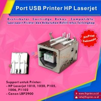 Port USB Printer HP Laserjet 1010 1020 p105 1006 p1102 Canon LBP2900