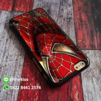 spiderman Casing iPhone 7 6s Plus 5s 5C 4s cases, Samsung case Dll