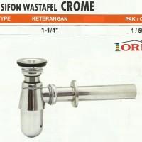 """Sifon Wastafel Besi / Siphon Zinc Alloy 1 1/4"""""""