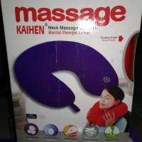 Jual Massage Cushion - Neck Kaihen Pillow Bantal Getar Pemijat Leher Lumbar Murah