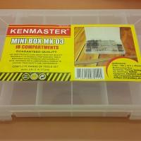 KOTAK KOMPONEN MINI 18 SLOT / MINI BOX MK03 KENMASTER / MINI BOX PARTI