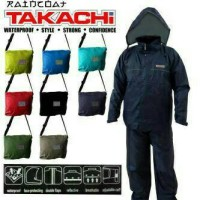 JAS HUJAN / JAKET MOTOR IMOPRT TAKACHO JAPAN MODEL SUNFLOWER + TAS