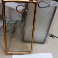 Case Chrome Sony Xperia M2 / M2 Aqua / TPU / Softcase / Ultrathin