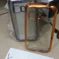 Case Chrome Samsung Galaxy Young 2 / G130 / TPU / Softcase / Ultrathin