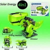 Jual Mainan Anak Dino Robot Educational Solar Kit 4 in 1 Murah