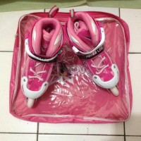 sepatu roda inline skate power warna pink S M L