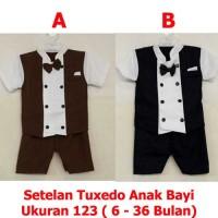 Kelvin - Setelan Baju Tuxedo Anak Bayi