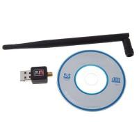 USB WIFI DONGLE 150mbps - RALINK rt5370 / ANTENA PENERIMA SINYAL WIFI