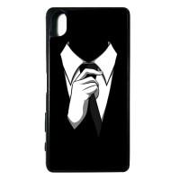 Case Casing SONY XPERIA X Softcase Bumper Motif Cowok Cowo Tuxedo