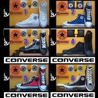 SEPATU CONVERSE ALL STAR HIGH + BOX