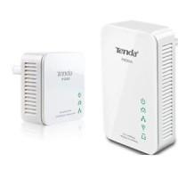TENDA PW201A + P200 - 300Mbps AV200 WiFi Powerline Extender Starter Ki