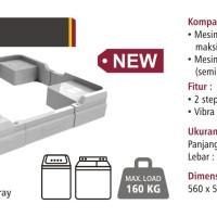Bervin BOS-120 Dudukan Mesin Cuci / Alas Kulkas / Kaki Lemari - Es