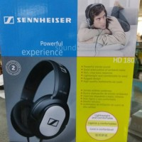 Jual Headset/Headphone on ear sennheiser HD 180 garansi resmi Murah