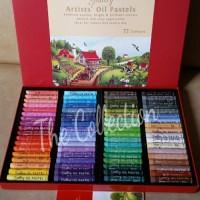 ATK0035 72 warna Greebel artists oil pastels 72 COLORS crayon krayon