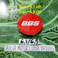 harga dop center / roda velg bbs merah nyala model racing kaki 6,1 cm (1buah Tokopedia.com