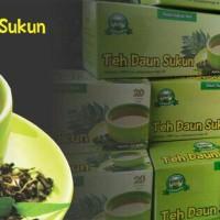 Teh Daun Sukun Asli Murni obat herbal ginjal liver kolesterol diabetes