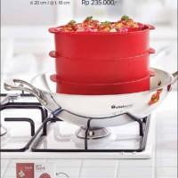 Cherry Steam It! (1set=3pcs) / Tupperware / Promo Agustus