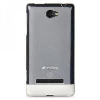 SALE!!! MELKCO Case Poly Jacket HTC Windows Phone 8S - Transparent