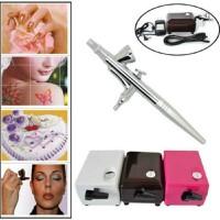 Jual kompresor mini airbrush make up,tattoo, face body paint, nail art, kue Murah