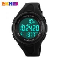 harga SKMEI S-Shock Pedometer Sport Watch Water Resistant 50m - DG1108S Tokopedia.com