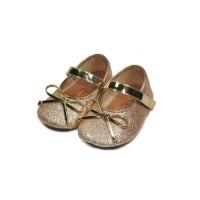 Sepatu Balet Perempuan Tamagoo-Paris Gold Baby Shoes Prewalker Murah