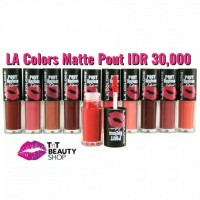 LA Colors Matte Pout Lipgloss / LA Color Pout Gloss