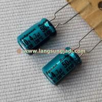 4.7uF 50V Rubycon RX30 electrolytic capacitor (long life, low ESR)