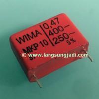 0.47uF 400V Wima MKP 10 capacitor 0,47uF 470nF MKP10 MKP-10