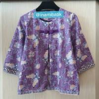 Jual Blazer Batik Kerja (Kode BB Capung) Murah
