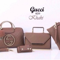 SALE Tas Gucci Estonia 8235 Set 4in1