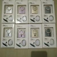 iring / ring stand merk apple dan samsung + hook kualitas premium
