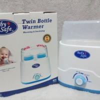 Baby Safe Twin Bottle Warmer & Sterilizer