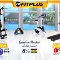 PROMO Paket Alat Fitness Home Gym Classic - Space 10m