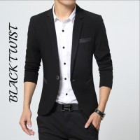 Jual Blazer jaz best seller  black twist terbaru 2016 Murah