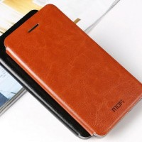 CASE MOFI LEATHER FLIP COVER KULIT LENOVO P70/ZENFONE 2 5.5INCH CASING