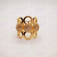 harga Yaxiya (anting kalung gelang) cincin permata perhiasan imitasi gold18k Tokopedia.com