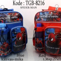 Tas Anak Sekolah Spiderman / TGB 8216