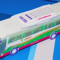 Papercraft Bus Lorena
