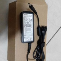 Adaptor Original Notebook Laptop Samsung Mini 19v 2.1a Colokan Biasa