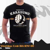 KAOS ANIME HAIKYUU KARASUNO VOLLEY BALL (KA KYU 01)