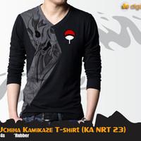 Kaos Anime Naruto Susanoo Uchiha Kamikaze T-shirt (KA NRT 23)