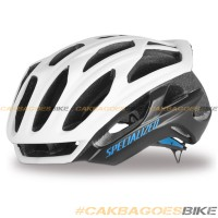 harga Helm Specialized Prevail S-works Matte White/neon Blue Original Tokopedia.com