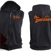 harga Sleeveless Hoodie / Jaket Rompi Motor Harley Davidson Tokopedia.com