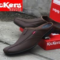 Sepatu Sandal Kickers Coklat Brown + Sandal Flip Flop Murah + Tutong