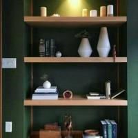Floating shelf/Rak dinding minimalis Uk.50x20x4cm (1Pcs)