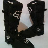harga Sepatu boot cross fox hitam Tokopedia.com