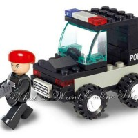 LEGO SLUBAN POLICE SERIES : RIQI POLICE