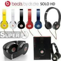 Headset Beats Solo HD By Dr Dre / Handsfree Dj Beats