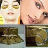 gold eye crystal colagen mask